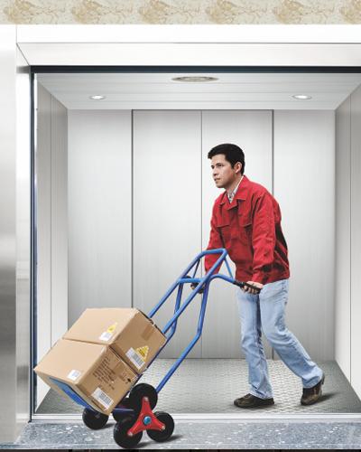 Машина бесшнуровой грузовой лифт