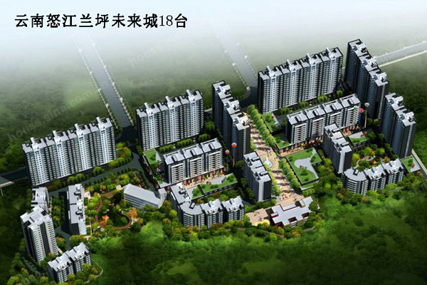 Юньнань Nujiang Lanping будущий город