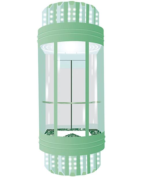 Панорамный лифт SSE-G007