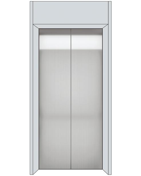 Посадочная дверь серии SSE-T02