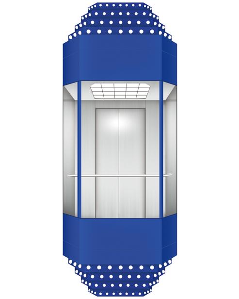 Панорамный лифт SSE-G022