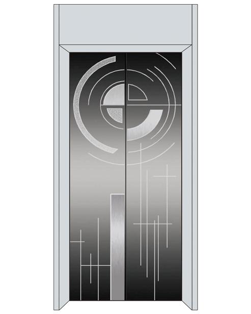 Посадочная дверь серии SSE-T03