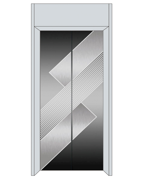 Посадочная дверь серии SSE-T04