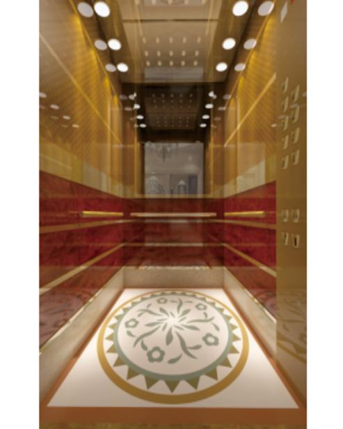 Пассажирский лифт Украшение автомобиля SSE-J048
