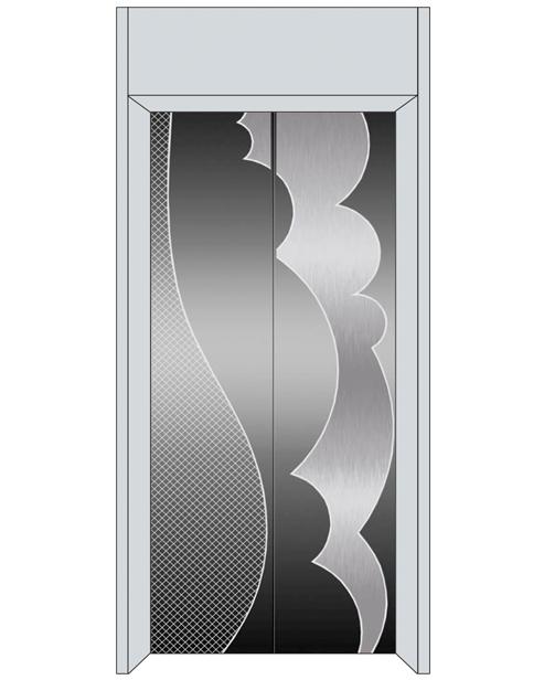 Посадочная дверь серии SSE-T05