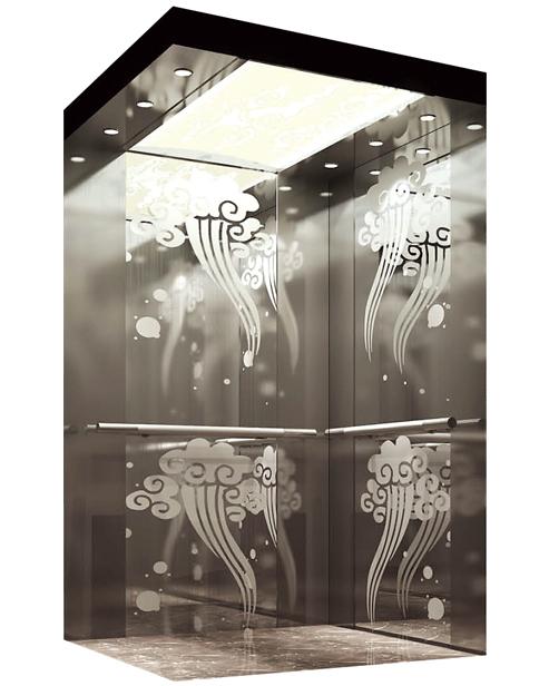 Пассажирский лифт Украшение автомобиля SSE-J050