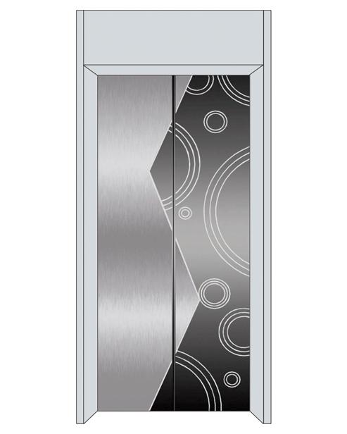Посадочная дверь серии SSE-T06