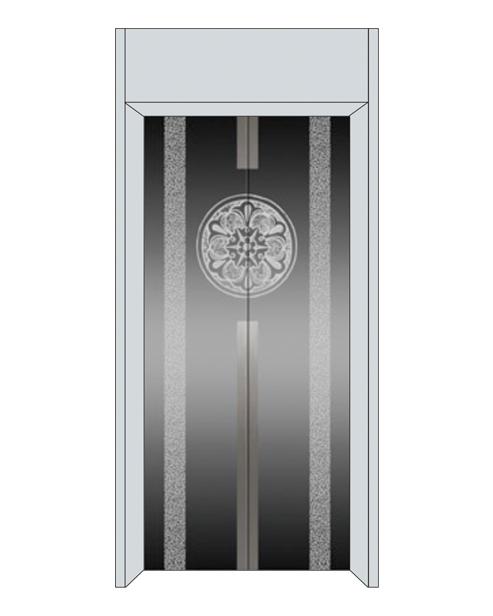 Посадочная дверь серии SSE-T07