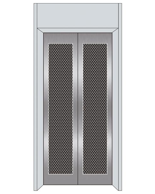 Посадочная дверь серии SSE-T08