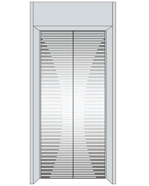 Посадочная дверь серии SSE-T09