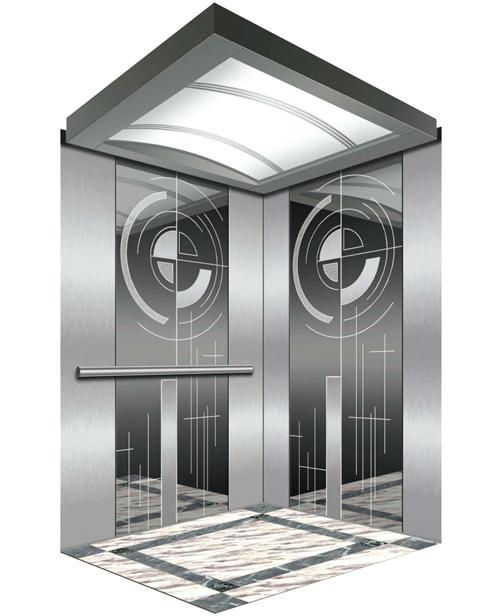 Пассажирский лифт Украшение автомобиля SSE-J005